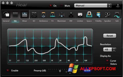 Screenshot Hear Windows XP