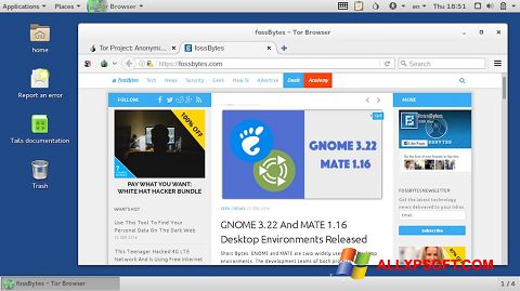 Screenshot Tor Browser Windows XP