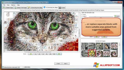 Screenshot Photo Collage Maker Windows XP