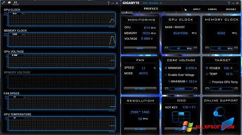 Screenshot GIGABYTE OC Guru Windows XP