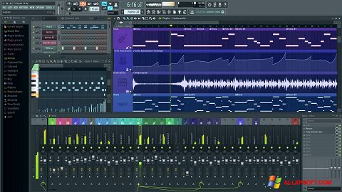 Screenshot FL Studio Windows XP
