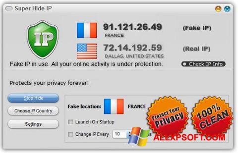 Screenshot Super Hide IP Windows XP
