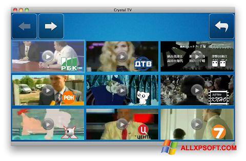 Screenshot Crystal TV Windows XP