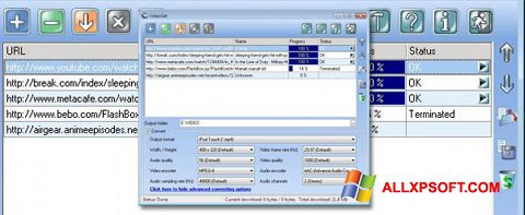 Screenshot VideoGet Windows XP