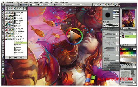 Screenshot Corel Painter Windows XP