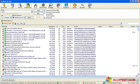 Screenshot eMule Windows XP