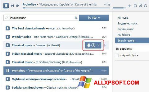 Screenshot SaveFrom.net Windows XP