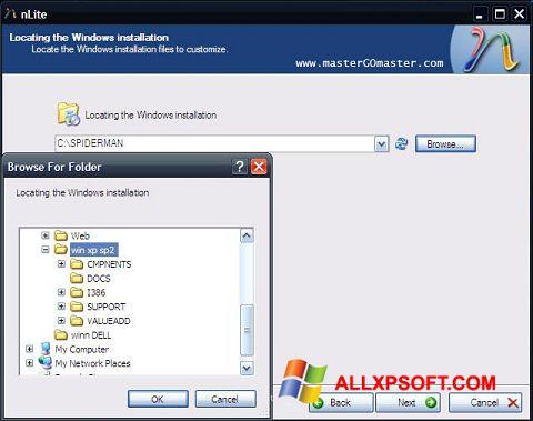 Screenshot nLite Windows XP