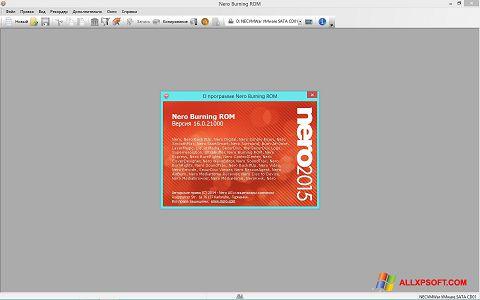 Screenshot Nero Windows XP
