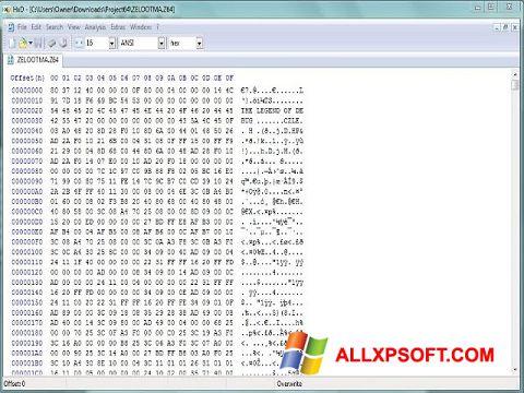 Screenshot Hex Editor Windows XP