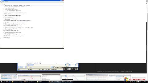 Screenshot AkelPad Windows XP