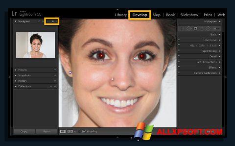 Screenshot Red Eye Remover Windows XP